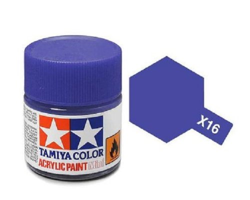 Tamiya Models X-16 Mini Acrylic Paint, Purple