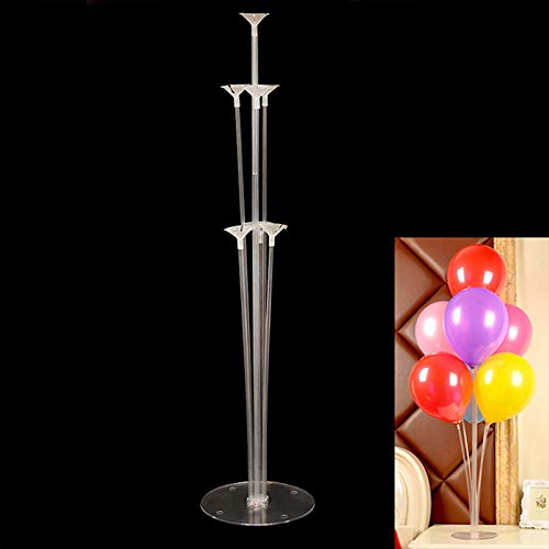 Ballons & Accessories - New 1 Set 70cm Balloons Column Stand Plastic Balloon Support Birthday Party Decoration Valentines Day Wedding Decor Dropship ()