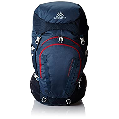 Gregory Mountain Products Wander 70 Backpack, Navy Blue, Small/Medium