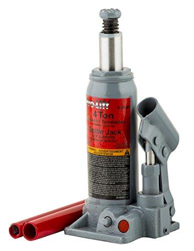Pro-Lift B-004D Grey Hydraulic Bottle Jack - 4 Ton Capacity by Pro-Lift (Image #1)