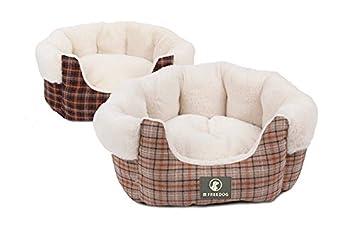 Freedog FD1000461 - Cuna, para perro y gato, color marrón: Amazon.es: Productos para mascotas