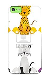 New Cat Lion Leopard Jaguar Panther Royalty Free Tock Photo Pictures Tpu Case Cover, Anti-scratch Standinmyside Phone Case For Iphone 5c