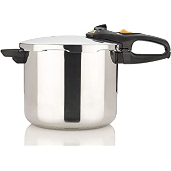Fagor DUO 10 Quart - Multi-Setting Pressure Cooker and Canner with Accessories, Polished Stainless Steel - 918060796
