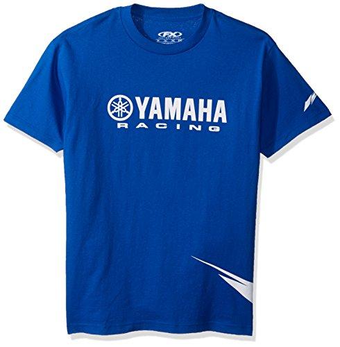 Factory Effex 12-88160 'Yamaha' Strobe T-Shirt (Blue, - Racing T-shirt Factory