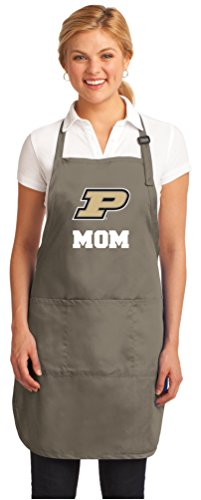 Broad Bay Deluxe Purdue Mom Apron Official Purdue University Mom Logo Aprons