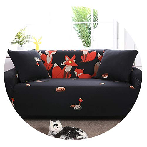 (Elastic Sofa Slipcovers All-Inclusive Couch Case for Different Shape Sofa Loveseat Chair L-Style Sofa Case,Color 9,1-Seat)