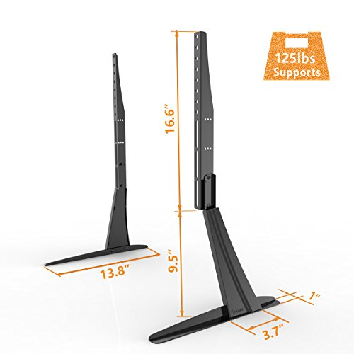 Universal Table Top TV Stand Base VESA Pedestal Mount For