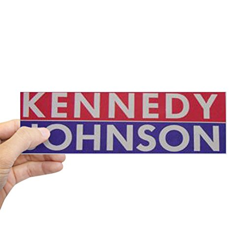 CafePress 1960 Kennedy-Johnson Bumper Sticker 10