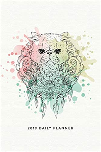 2019 Daily Planner: The Cat Lovers Agenda Planner and ...