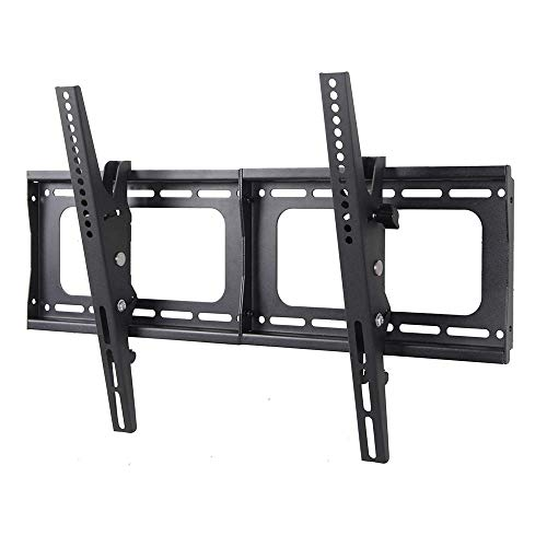 TV Hanger Wall Mount 55 Inch TV Bracket Fits Most 32 to 72 Inch Led LCD Plasma Flat Screen Up to Vesa 600x400 Tilting Heavy Duty Loads 132 Lbs Easy Installation Hardware and Instructions Included