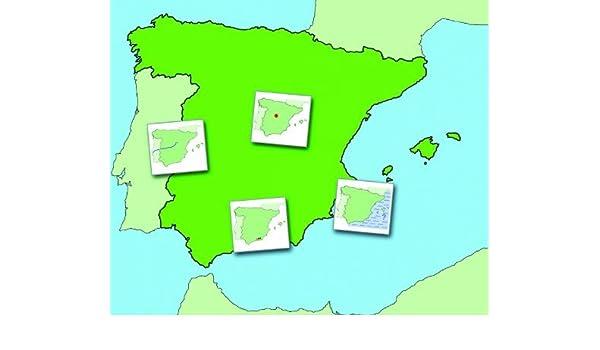 Wildgoose Education SP0013 magnético Mapa de España, 74 cm x 62 cm: Amazon.es: Industria, empresas y ciencia