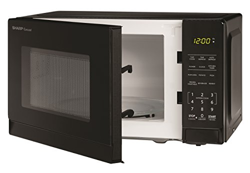 Sharp Microwaves ZSMC0710BB Sharp 700W Countertop Microwave Oven, 0.7 Cubic Foot, Black by Sharp (Image #3)