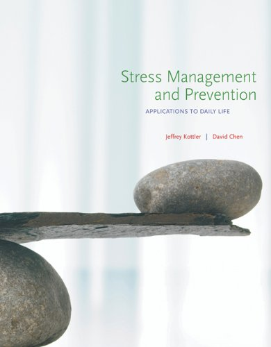 Stress Management and Prevention: Applications to Daily Life Pdf