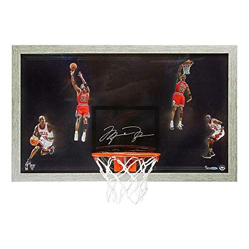 Michael Jordan Signed Autographed Shadowbox Backboard