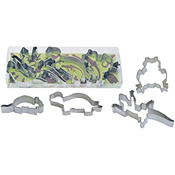 R & M Industries Critter Theme Cookie Cutter Set (Set of 4), Multicolor