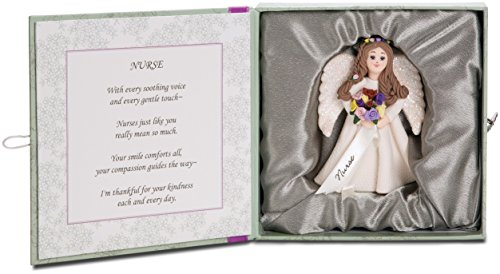 Pavilion Gift Something Special Nurse Figurine, 4-Inch (Collectible Nurse Angel Figurine)