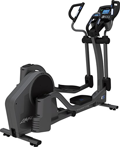 Life Fitness E5 Go Cross-Trainer, Titanium