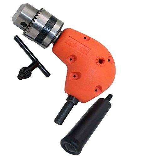 Right Angle Drill Attachment 90 Degree Handle Adaptor Corner Chuck Clamping range 1-10MM XY124 Rarelock