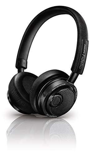 Philips Fidelio Bluetooth Headphone M2BTBK M2BT NFC by Philips