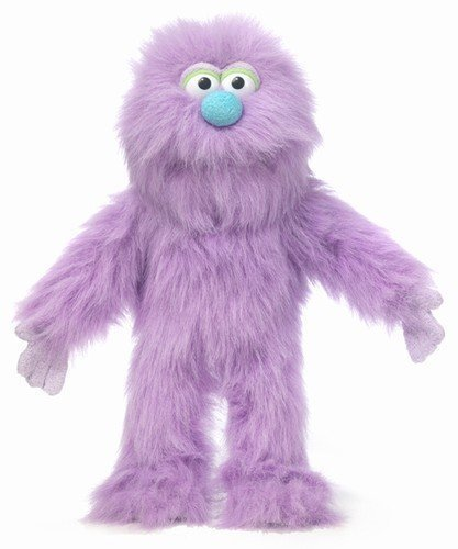 14″ Purple Monster Puppet