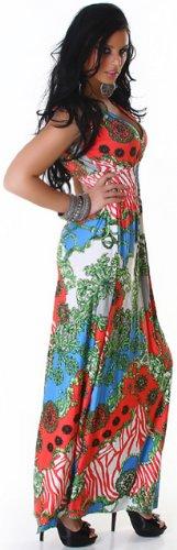 Graffith - Vestido - cuello hálter - Sin mangas - para mujer albaricoque