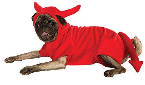[Rubies Costume Devil Dawg Hoodie Pet Costume, XX-Large] (Devil Costume For Dog)