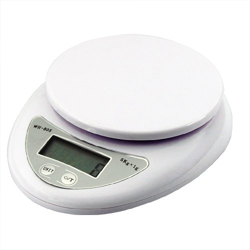 Yaheetech 5kg/1g Digital LCD Electronic Kitchen Postal Pocket Scales
