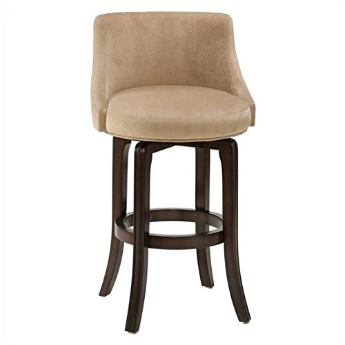 "Hillsdale Napa Valley 30"" Swivel Bar Stool in Khaki"