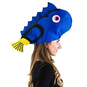 Tigerdoe Fish Hats – Clown Fish Hat – Tropical Fish Hat – Costume Hats – Under The Sea Party Hats (2 Pack) – Shark Hat
