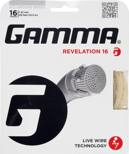 Gamma Revelation 16G Tennis String, ()