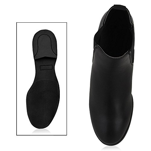 napoli-fashion - Botas Chelsea Mujer negro