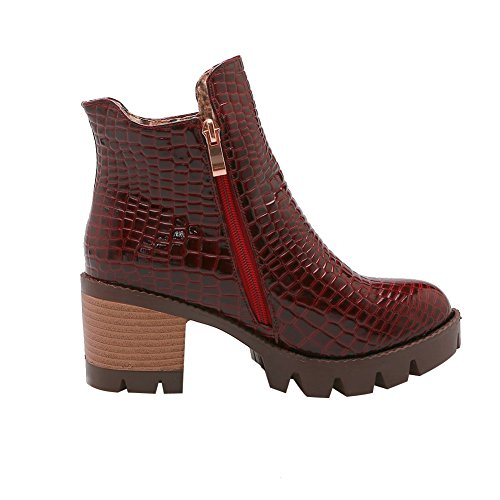 Eclimb Womens Waterproof Winter Ankle Boots Wine Red P5jNPw