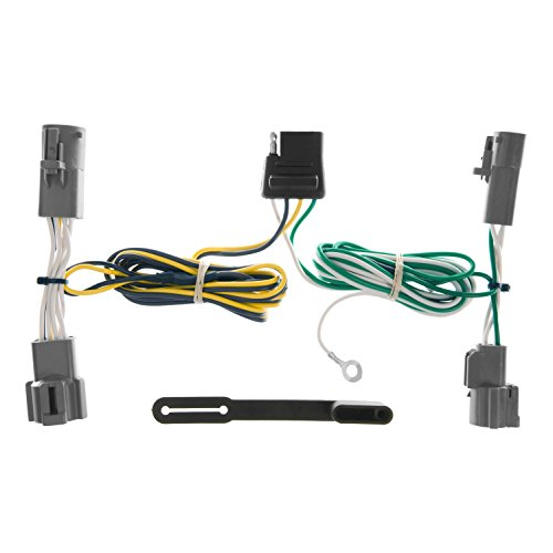Ford Bronco Towing - CURT 55303 Vehicle-Side Custom 4-Pin Trailer Wiring Harness for Select Ford Bronco