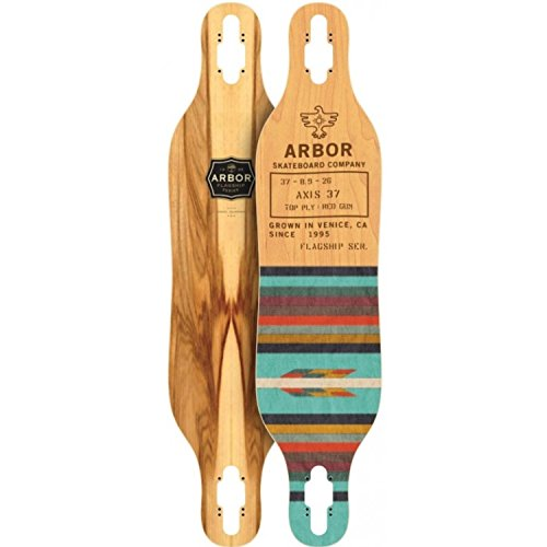Fireball Arbor x Supply Co. Longboard Skateboards  , Deck On