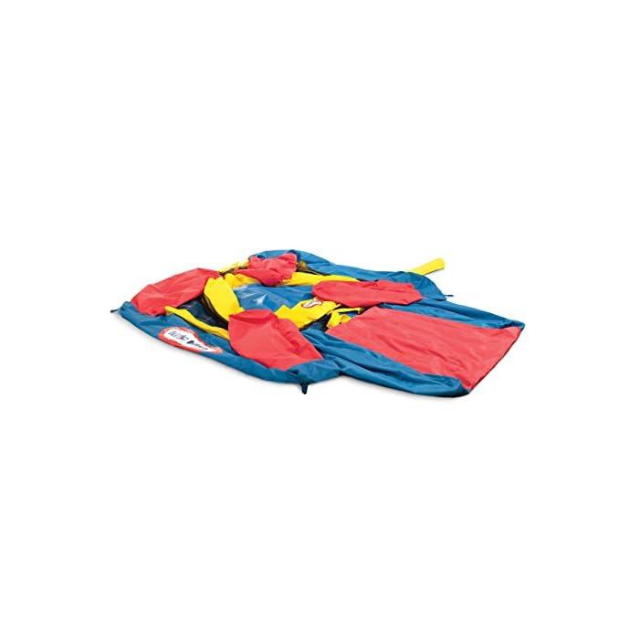 41UXDNCOJNL Los niños pueden saltar, deslizarse y rebotar en este inflable inflable de Little Tikes Jump 'n Slide Bouncer. Un divertido diseño de casa hinchable ofrece una gran área para varios niños y un divertido tobogán. El Jump'n Slide Bouncer se infla en minutos y se pliega de forma compacta para un fácil almacenamiento.