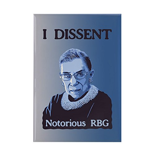 CafePress Notorious RBG Rectangle Magnet, 2