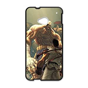 HTC One M7 Cell Phone Case Black Street Fighter