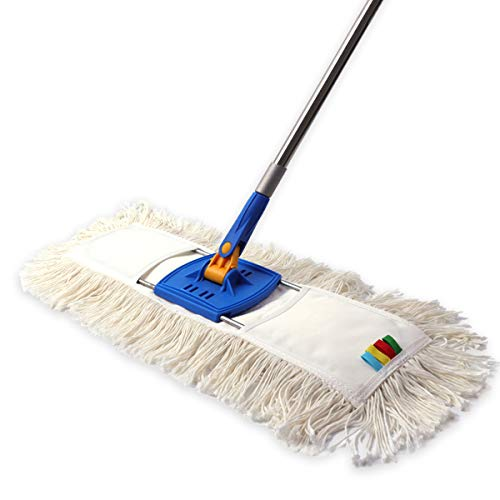 - YCUTE Commercial Heavy Duty Dust Mop Cotton with 53