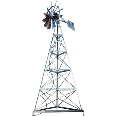 Outdoor Water Solutions Deluxe Aeration Windmill System - 20ft. Windmill, Model# AWS0049