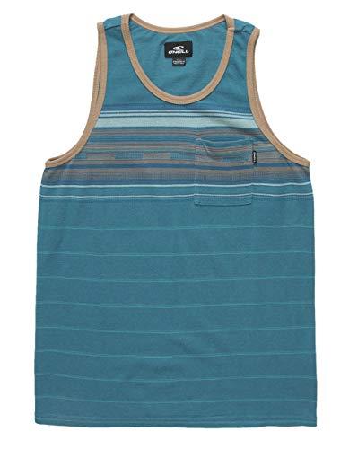 - O'Neill Kids Boy's Wet Blanket Tank Top (Big Kids) Dark Blue Medium