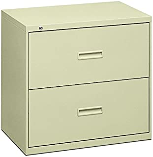 product image for HON Filing Cabinet - 400 Series Two-Drawer Lateral File Cabinet, 36w x 19-1/4d x 528-3/8h, Putty (434LL)