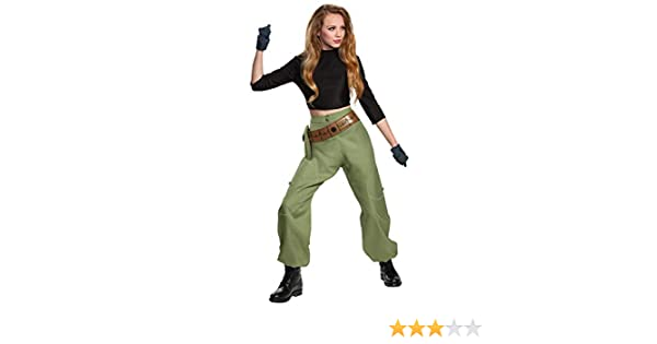 Disguise Kim Possible Animated Series Womens Kim Possible Fancy ...