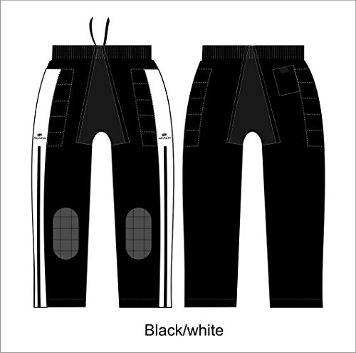 Acacia Pro-Broomball/Hockey Pants, Black, A X-Large ()