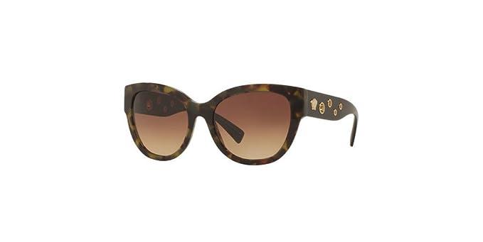 Amazon.com: Versace ve4314 a de la mujer anteojos de sol, 56 ...