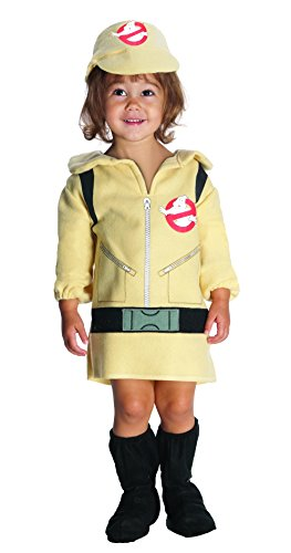 [Ghostbusters Girls Costume, Toddler] (Ghostbuster Costume Backpack)