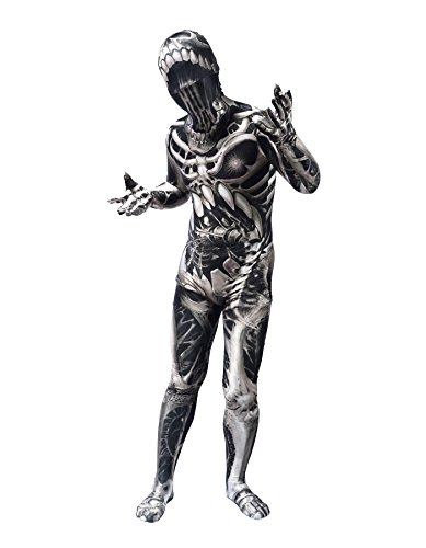 Sheface Adults 3D Printing Spandex Zentai Full Bodysuit Halloween Costumes (Medium, P02)