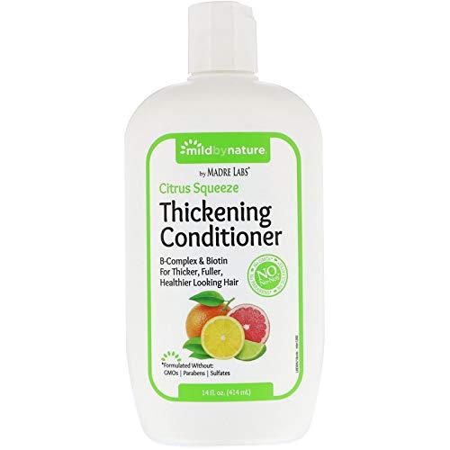 (Madre Labs, Conditioner, Thickening B-Complex + Biotin, No Sulfates, Citrus Squeeze, 14 fl oz (414 ml))
