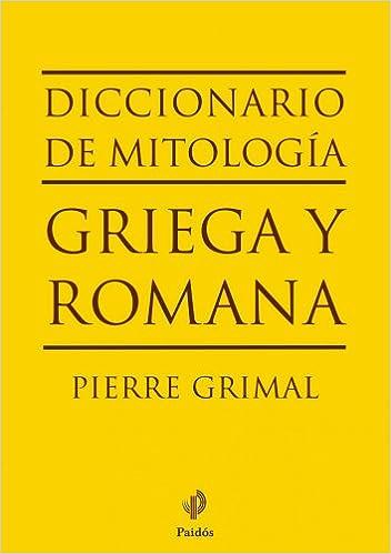 Book's Cover of Diccionario de mitología griega y romana (Lexicon) (Español) Tapa blanda – 25 noviembre 2010