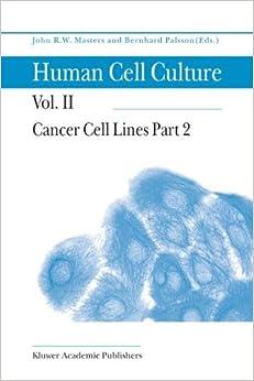 Descargar Libros Cancer Cell Lines Part 2: Volume 2 Epub Gratis Sin Registro
