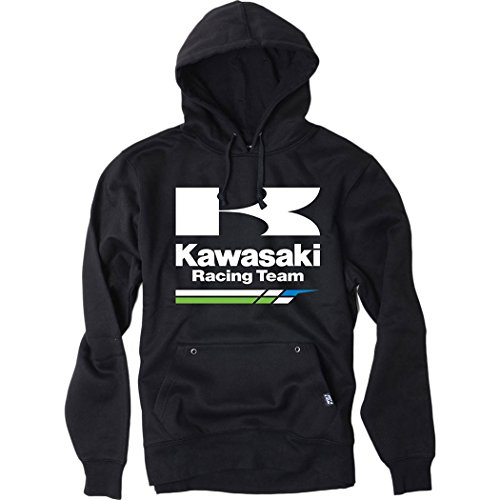 Factory Effex - Factory Effex Hoody - Kawasaki Racing - Black - X-Large by Factory Effex